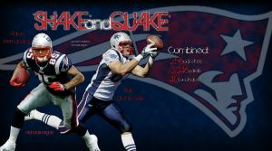 'Shake And Quake' Hernandez and Gronkowski Pic by FBGNEP