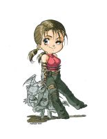 Chibi Jen from Primal by Teremiao