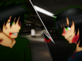 RQ  -  Butch and Buttercup... More Than Human by 6ninjafox9