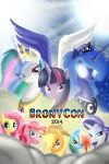 Bronycon 2014 Autograph Poster by TheBlondeh