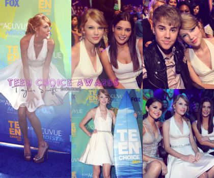TSwift Teen Choice Awards. by freakingmeout