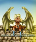 Dragon girl by Alise-arts
