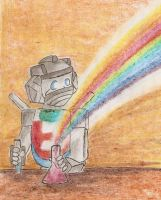 Rainbow made by Wheeljack by Nortstar