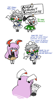 Angry Servant Syndicate by Peachems