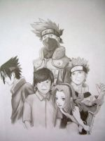 Christian and Team 7 by PirateCaptainJess