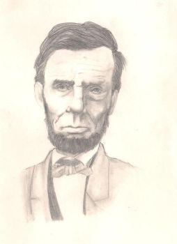 Abraham Lincoln by averageandroid