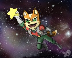 StarFox- Reaching the Stars by BBVixen