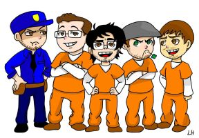 The Escapists (YouTuber Edition) by irukaluvsdumplings