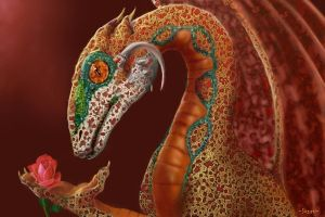 dragon portrait II by Hagge