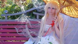 Chii with parasol by AGflower