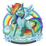 MLPFIM - Rainbow Dash by 2Dea