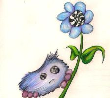 Bob And A Flower by cozzybob