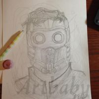 Star Lord by artbaby08