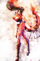 Mai Shiranui by Gold-copper