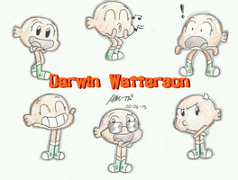 Darwin Watterson by Mike-TA