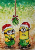despicable Chrismas by cloe-patra