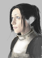 Female Knight WIP 2 by aomcesare