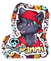 Danni Badge by dragonmelde