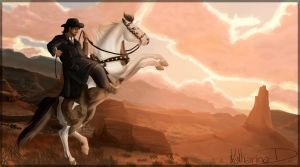 Outlaw Of The West by Katha88