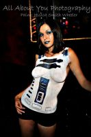 R2D2 BodyPaint by Twiztid-Hippie