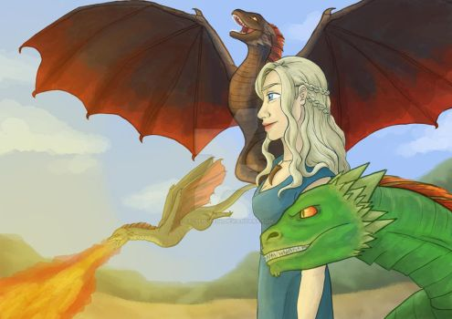 Mother of Dragons by FalseHope04
