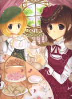 Tea in the Afternoon by Kaiami