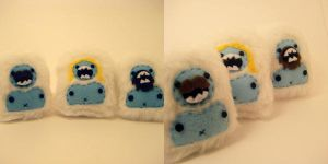 POCKET YETIS IN DISGUISE by loveandasandwich