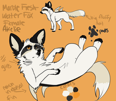 Akelie Reference .: Fresh Water Fox :. by NeonWolfGlow