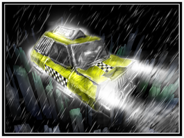 Taxi Speedpaint by JRTribe