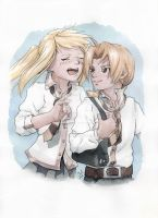 Ed and Winry by Juli556
