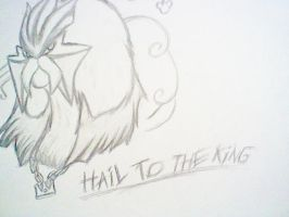 Hail to the King, King Entei by AZURA-FANG
