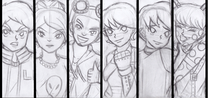 Earth Defenders Cast WIP by Gabby413