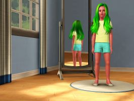 Sims 3 Equestria Girls - Young Lemon Zest pic 3 by Magic-Kristina-KW