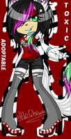 ADOPTABLE toxic the husky CLOSED by LittleChewrrie