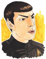 Commander Spock by nezcabob