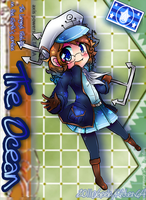 APH OC Card: The Ocean by GeekyKitten64