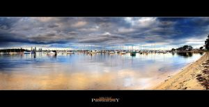 Swan River Storm by Furiousxr
