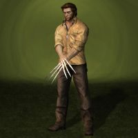 X-Men Origins Wolverine Logan Shirt Outfit by ArmachamCorp