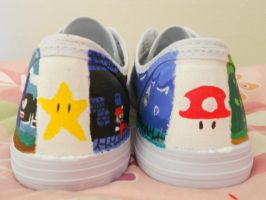 Super Mario Shoes pic. 6 by Sagojyousartpage