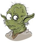 MsGothje as Yoda by MsGothje