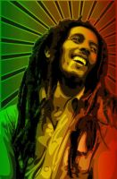 Bob Marley By  DrumsOfWar by EliteArtists