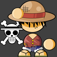 Luffy D. Monkey by cabal-art
