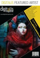 Cover of Digitalis Mag by Phatpuppyart-Studios