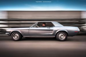 1968 Mustang Rig Shot I by AmericanMuscle