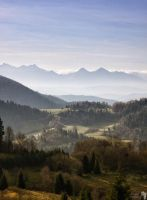 Landscape with the mountains by TomaszPrzybylo