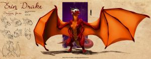 Erin Drake - Dragon form - EDIT by BooksAndDragons