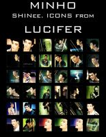 SHINee's Minho. Lucifer icons by e11ie