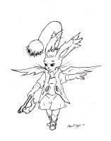 FFTA2 - Moogle by The-BenT-One