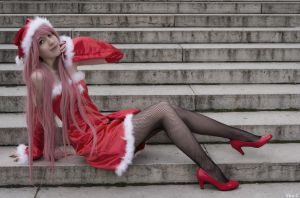 Project Diva Xmas by MikadoCosplay