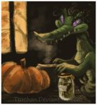 Alligators Like Pumpkin Flavored Everything by Tsuchan